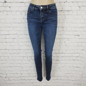 Pilcro and  the Letterpress Anthro Skinny Jeans 27